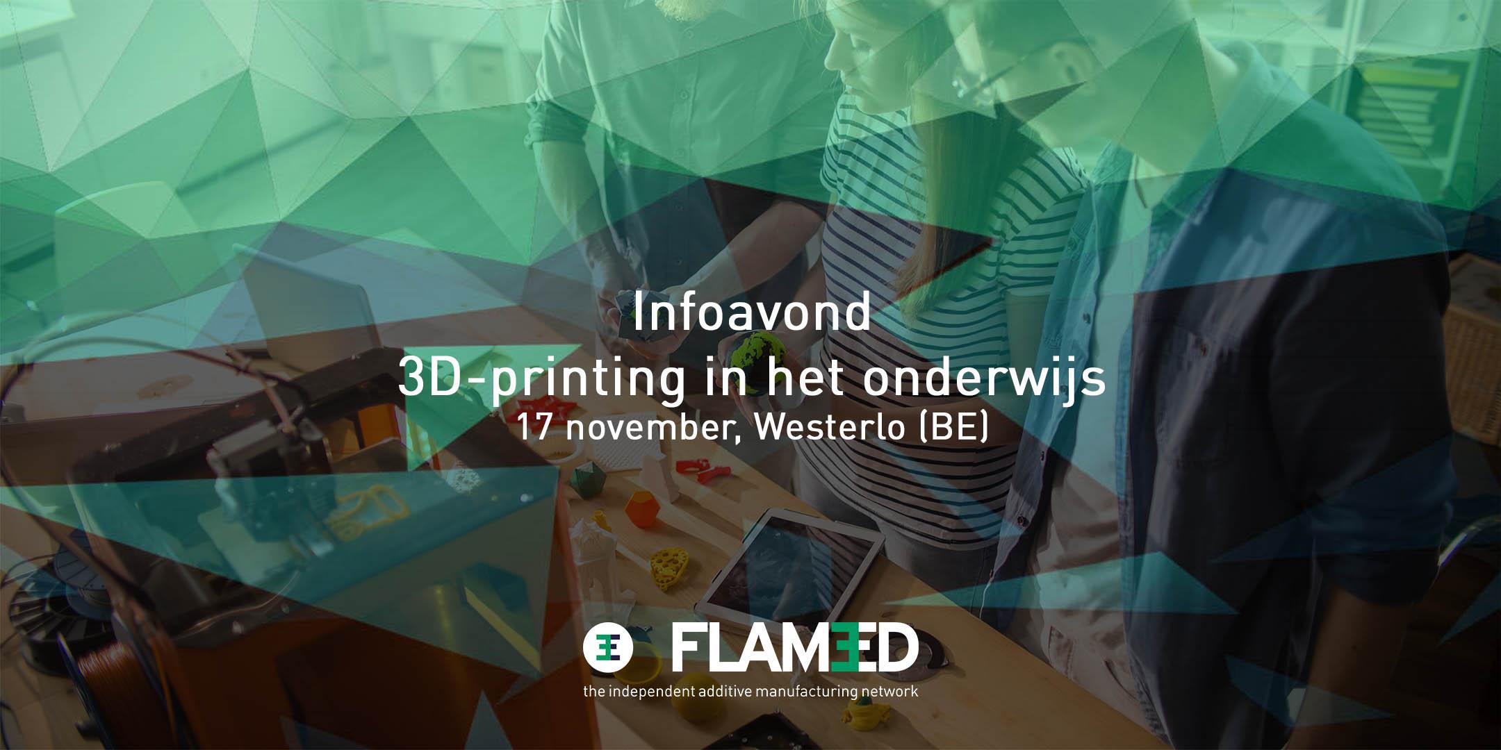 Event 3D-printing in het onderwijs